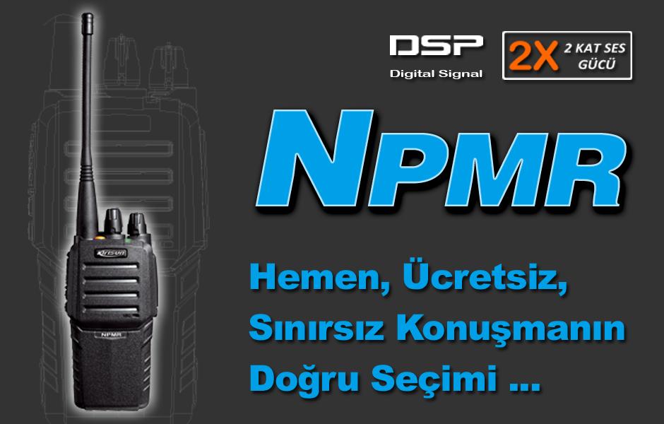 NPMR Lisanssız El Telsizi