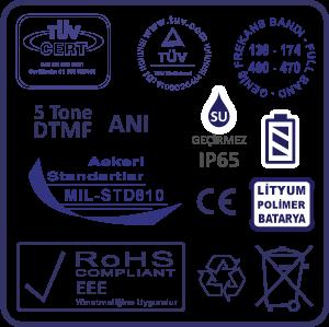 ISO9001 - RoHS - CE - MIL-STD-810